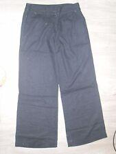 Pantalon pattes d'élephant bleu marine femme KIABI taille 38