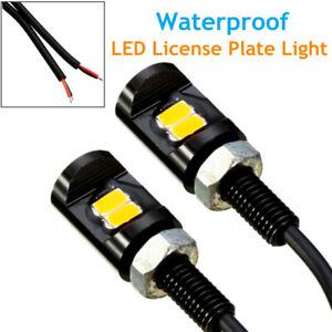 LED License Plate Tag Light Reversing Light Lamp For Truck Trailer Waterproof