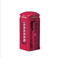 Lemax 2004 Telephone Booth Village Accessory #44176 Cabine telephonique Rare