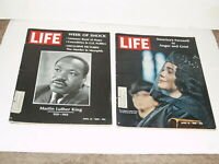2 Life Magazines April 12 and 19 - 1968 Dr Martin Luther King and Wife