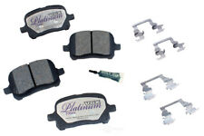 Disc Brake Pad Set-Ceramic Pad Kit with Hardware Front Autopartsource VP707K