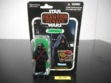 NEW & SEALED!! STAR WARS TPM DARTH SIDIOUS ACTION FIGURE VC79 VINTAGE 2-N