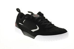 ES Quattro 5101000174001 Mens Black Suede Skate Inspired Sneakers Shoes