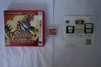 Pokémon Rubi Omega Rubin Nintendo 3DS Ruby game 2DS 2014 PAL EUR spiel complete