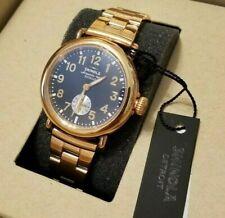 Shinola Runwell 36 mm Rose Gold Watch- Brand New