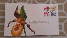2006 CANADA- Flowers set- FDC STAMPS