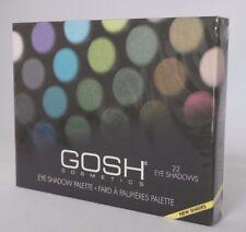 GOSH COSMETICS - EYE SHADOW PALETTE - 22 EYE SHADOWS 25G OVP #82-7-4