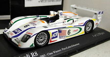 Minichamps 1/43 Scale 400 031306 Audi R8 24H Le Mans 2003 #6 Diecast model car