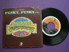 ANDREA MINGARDI SUPERCIRCUS  Funky, Funky... SPAIN 45 1977