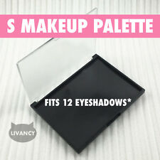 DIY Empty Magnetic Makeup Palette S Strong Plastic Fits 12 Eyeshadows