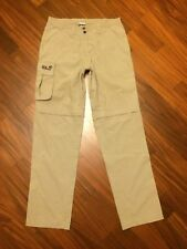 Jack Wolfskin-Pantaloni Donna/Womens Zip-Off Pants Travel Hiking Outdoor Touring