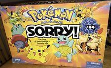 Pokemon Sorry Board Game 2000