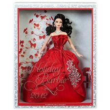 BARBIE HOLIDAY 2012 NRFB - new model muse doll collection Mattel