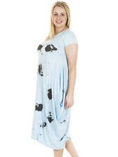 Round Neck Plus Size Lagenlook Dresses for Women