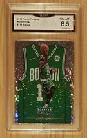 2018-19 Panini Threads Dazzle #173 Kyrie Irving GMA Graded NM-MT 8.5