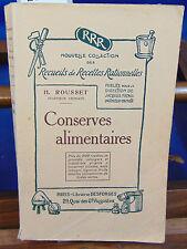 ROUSSET Conserves Alimentaires nouvelle collection des recueils de recett...