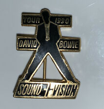 David Bowie Sound & Vision 1990 Tour Pin