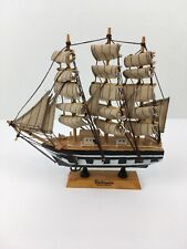 "Baltimore, Maryland 9"" Wooden Model Ship - Souvenir Desk Office Mantle"