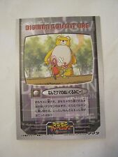 Digimon Adventure Game Card TC-NO 22, 1999, In Japanese (VG) (011-39)