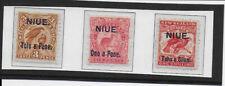 NIUE  1903  SG13/16 mint