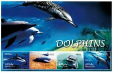MODERN GEMS - Maldives - Dolphins - Sheet Of 4 - MNH