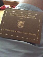 2 euro commémorative 2011 Vatican  journée mondiale de la jeunesse