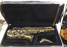 Vintage Cecilia Saxophone Model HC 713 With Original Hard Case