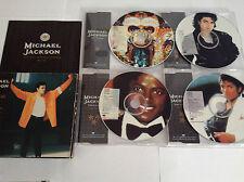 MICHAEL JACKSON TOUR SOUVENIR LTD ED PICTURE 4 CD SET RARE OOP 1992