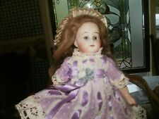 Antique Doll Early Kestner. Closed mouth, glass eyes, painted on boots and socks