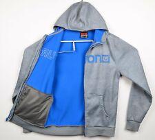 Burton DryRide Men's Small Fleece Lined Snowboard Zip Hoodie Sweatshirt