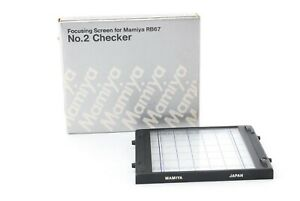 [MINT++] Mamiya Focusing Screen No.2 Checker for RB67 Pro S SD from Japan #368