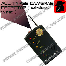 Spy Phone Detector Camera Hidden GSM Bugs GPS Finder Listening Device