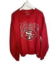 Vintage San Francisco 49ers Sweatshirt Size Mens XL