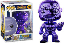 AVENGERS INFINITY WAR - THANOS CHROME EXCLUSIVE FUNKO POP VINYL *MINT* RARE!