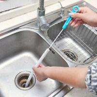 71cm Flexible Sink Overflow Drain Unblocker Clean Brush Tool Cleaner Kitche I6C9