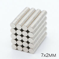 "10 x 6mm//0.39*0.23/"" Neodymium Cylinder Rare Earth N50 Fridge Magnet 25//50pcs"
