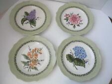 "Set of 4 Princess House Vintage Garden Salad /Dessert Plates 8.5"""