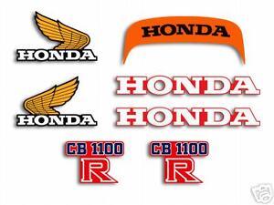 1981 Honda CB1100RB - decal set