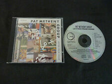 PAT METHENY LETTER FROM HOME RARE CD!