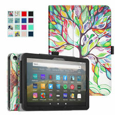 Folio Case for All-New Amazon Fire HD 8 / HD 8 Plus 2020 Tablet Slim Stand Cover