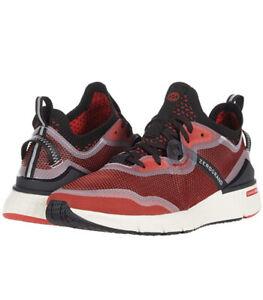Men Cole Haan ZeroGrand Overtake Runner Sneakers Shoes Flame Scarlet C32111