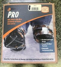 NEW Yaktrax PRO Traction Coil Cleats Size Adult Small with strap Snow Ice NIB