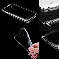 Hot Clear Protector Skin Slim Soft TPU Case Cover For Samsung Galaxy Note 4 S5