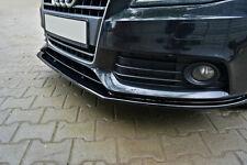 Audi A4 8K B8 pare-chocs avant lèvre inférieure spoiler Cup Chin Valance Splitter S4 S-Line