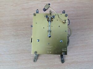 Vintage German Chiming Mechanical Clock Movement Untested