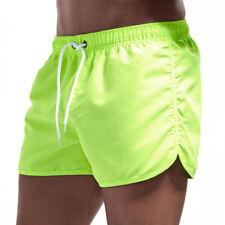 Hombre Informal SPORTS Running Entrenamiento Culturismo Pantalones Cortos de Gym