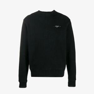 Off-White Embroidered Arrows Slim-Fit Sweatshirt - Black