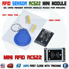 RFID RC522 mini tags SPI Sensor Arduino module with 2 tags MFRC522 DC 3.3V