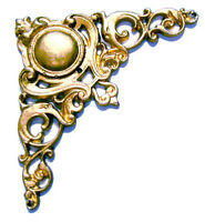 Solid Brass Casting Trim For Ansonia Antique Hanging Clock