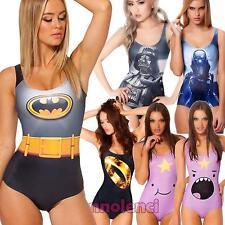 Costume da bagno intero donna swimwear stampa mare body cult nuovo moda